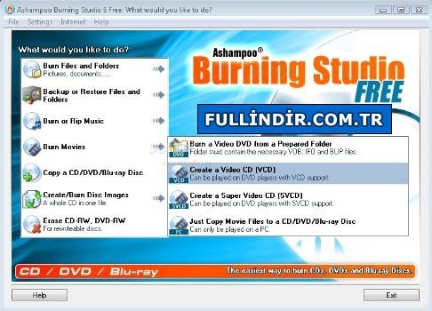 CD / DVD yakma / kopyalama programı Resim #2