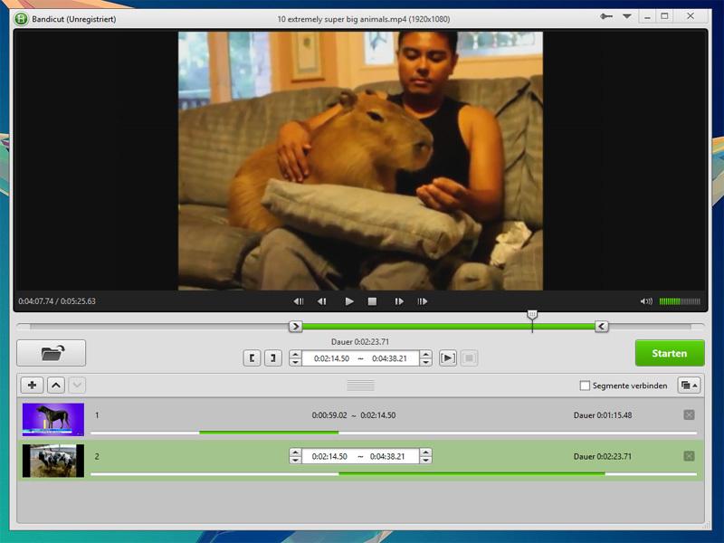 Video kesme / düzenleme programı Resim #3