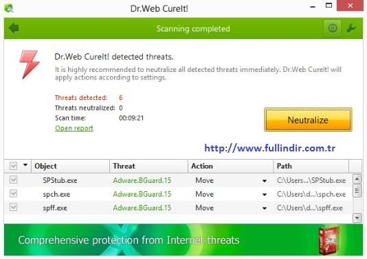 Virüs / Trojan temizleme programı Resim #2