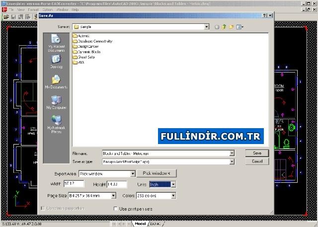 DWG - PDF dönüştürücü Resim #1