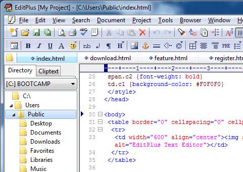 Çok işlevli metin editörü programı (html, php, java..)  Resim #2