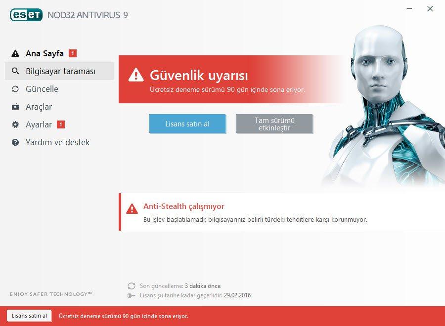 Antivirüs programı Resim #3
