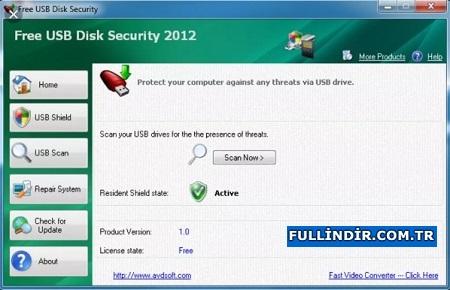 USB disk antivirüs programı Resim #2
