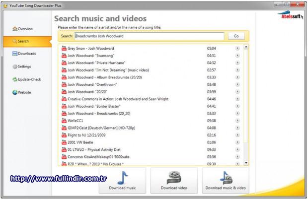 Youtube şarkı indirme programı Resim #2