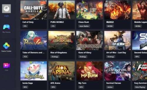 gameloop oyun listesi